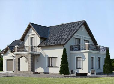 Красивый дом в пригороде Минска