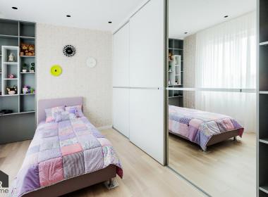 Квартира в спокойных тонах