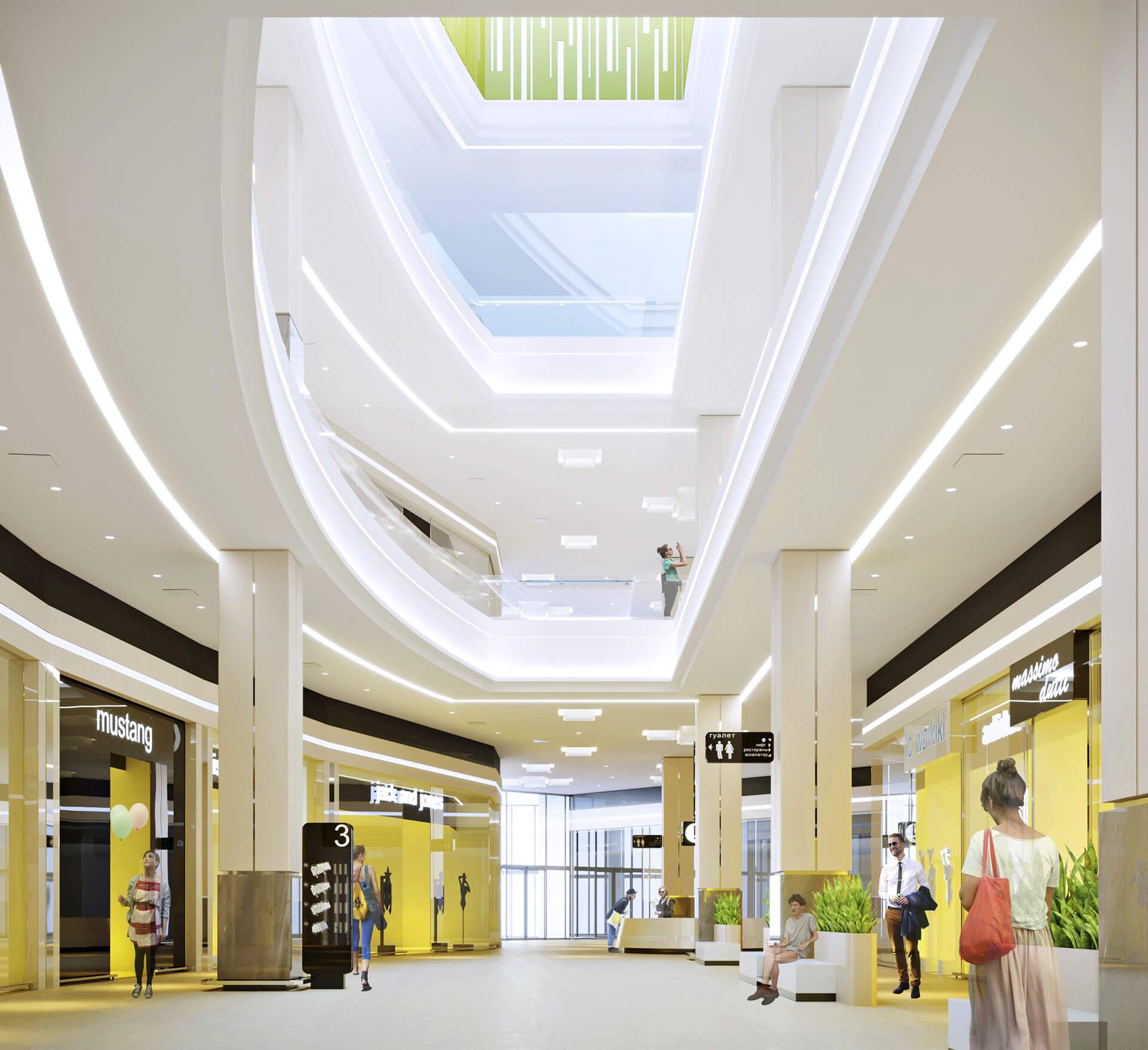3D визаулизация, торговый центр