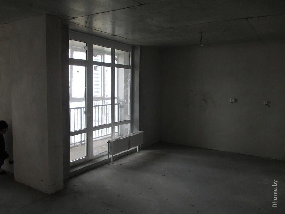 Фото квартиры в ЖК «Браславский» до начала работ | Дизайн студия – Rhome.by