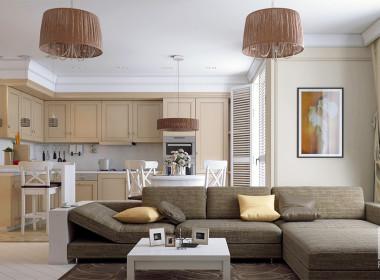 Квартира в традиционном стиле