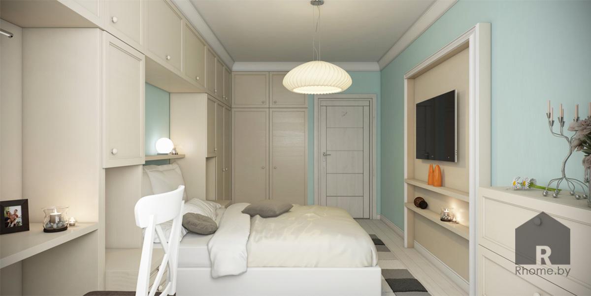 Дизайн интерьера спальни в традиционном стиле | Дизайн студия – Rhome.by