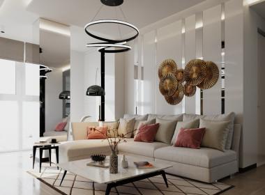 Квартира с контрастными элементами вЖК «Чайковский»