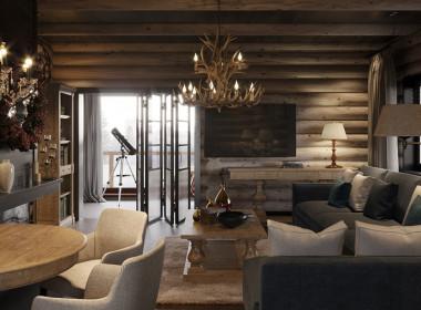 Загородный дом по мотивам скандинавских шале