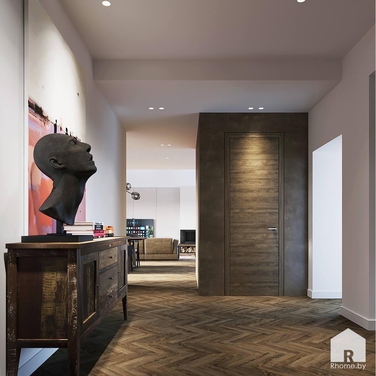 Дизайн холла | Дизайн студия – Rhome.by