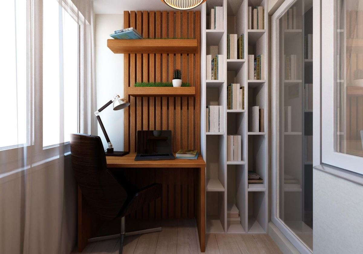 Офис в квартире, домашний офис