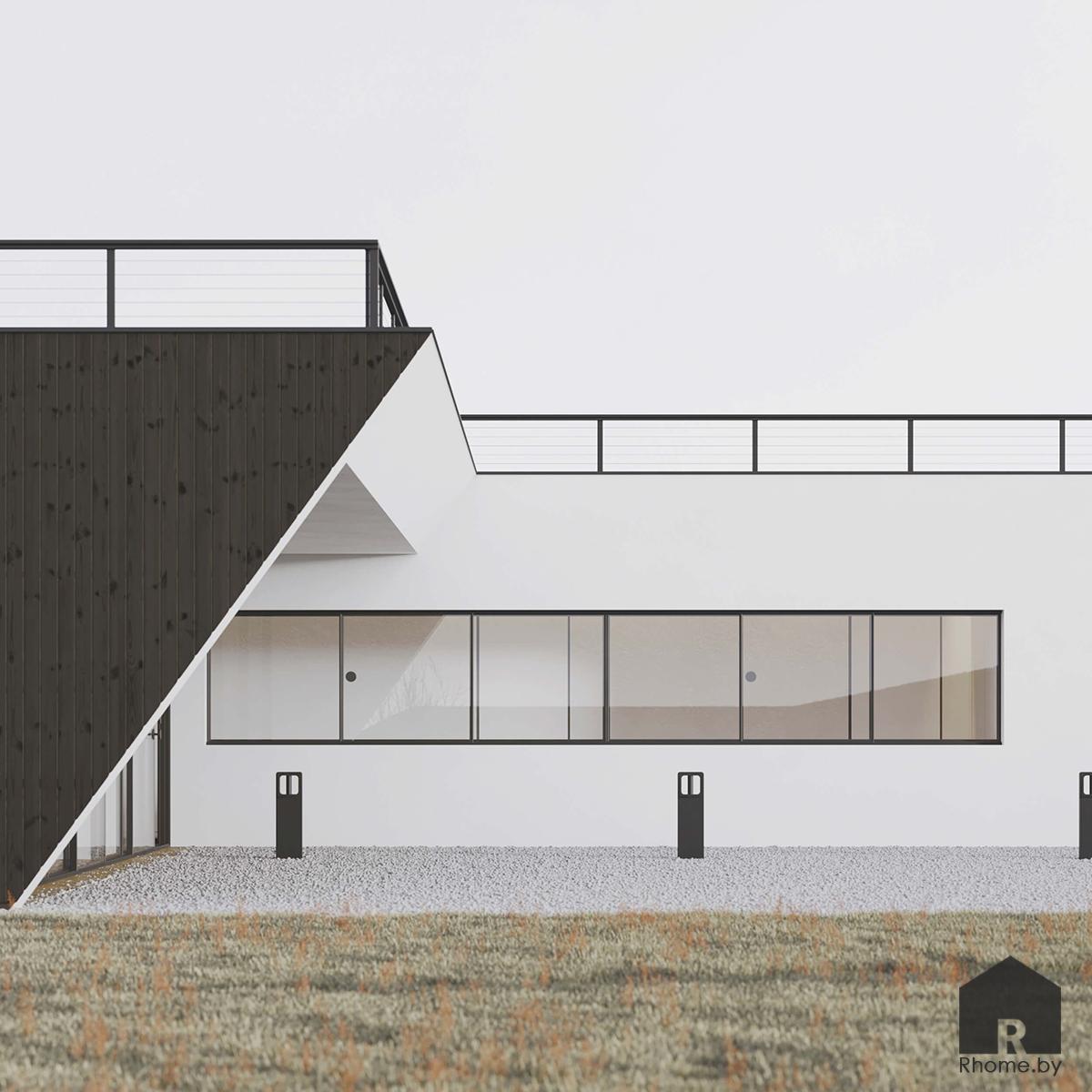 Автономный дом в Литве | Дизайн студия – Rhome.by