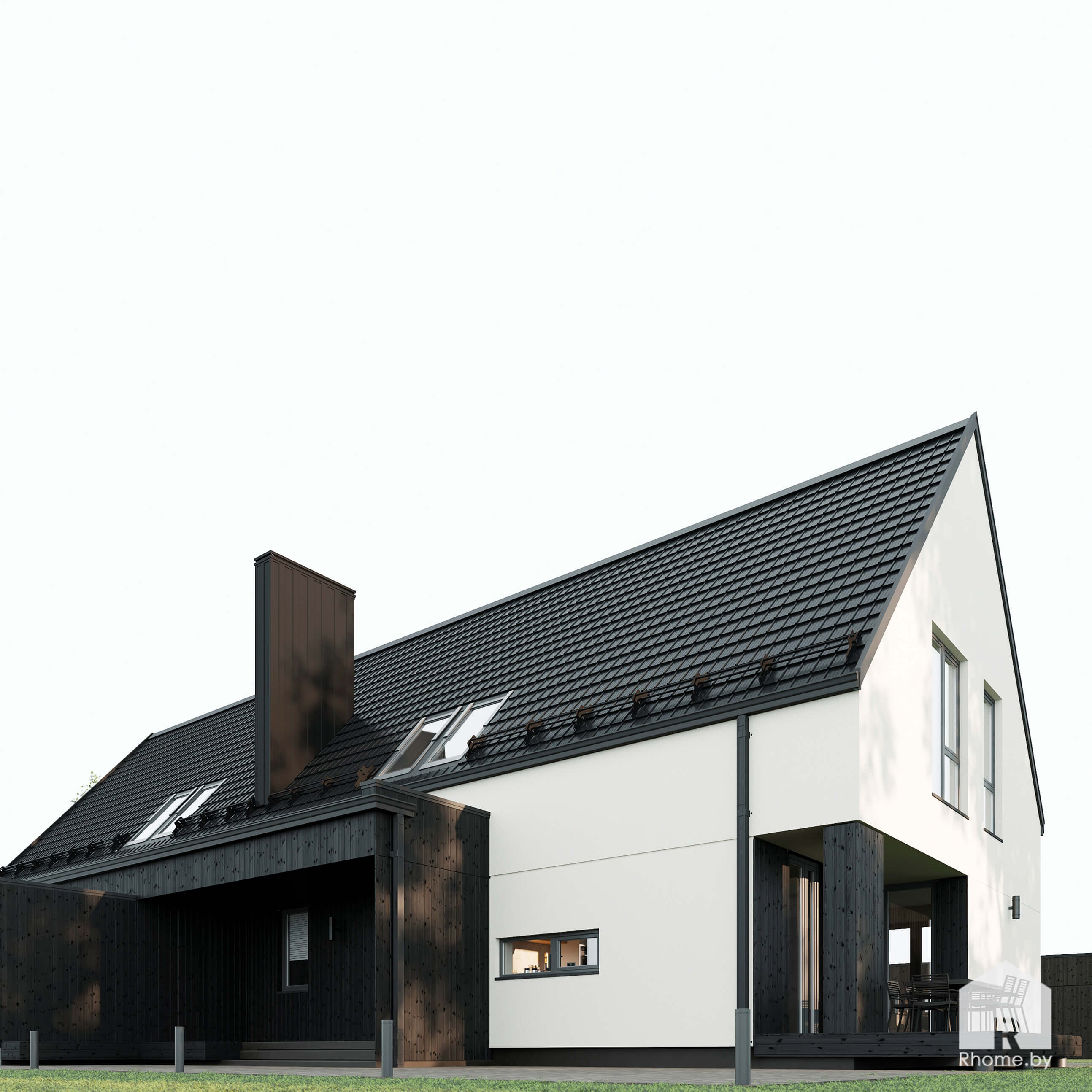 дом старое село