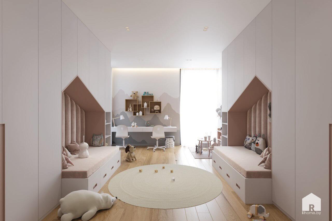 дизайн детской комнаты зеленая гавань