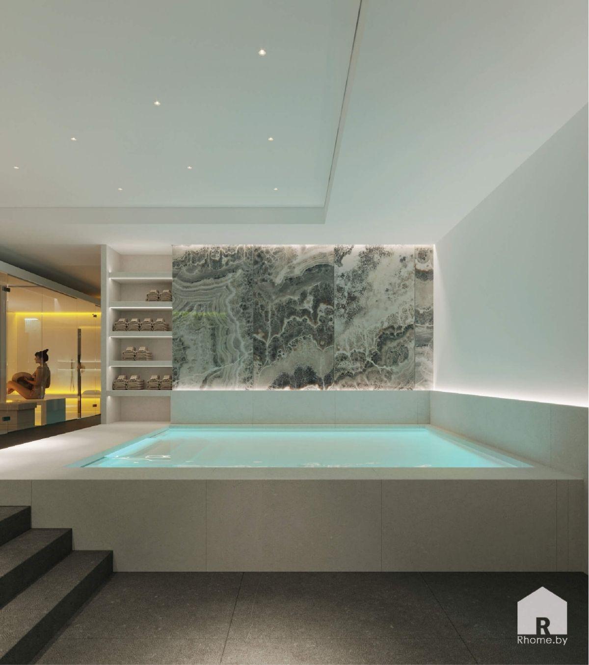 бассейн в спа зоне