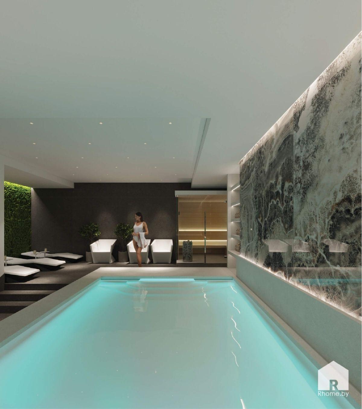 бассейн в спа