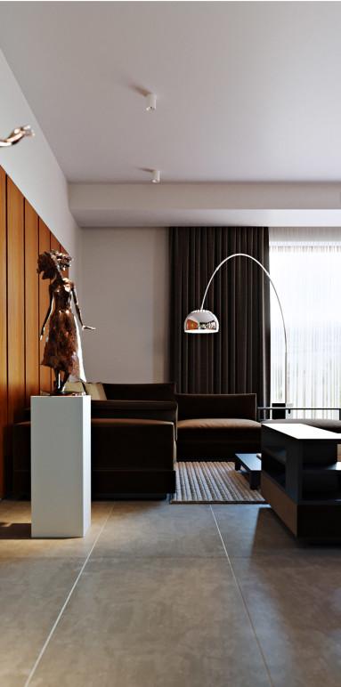 Современный интерьер дома в Мозыре