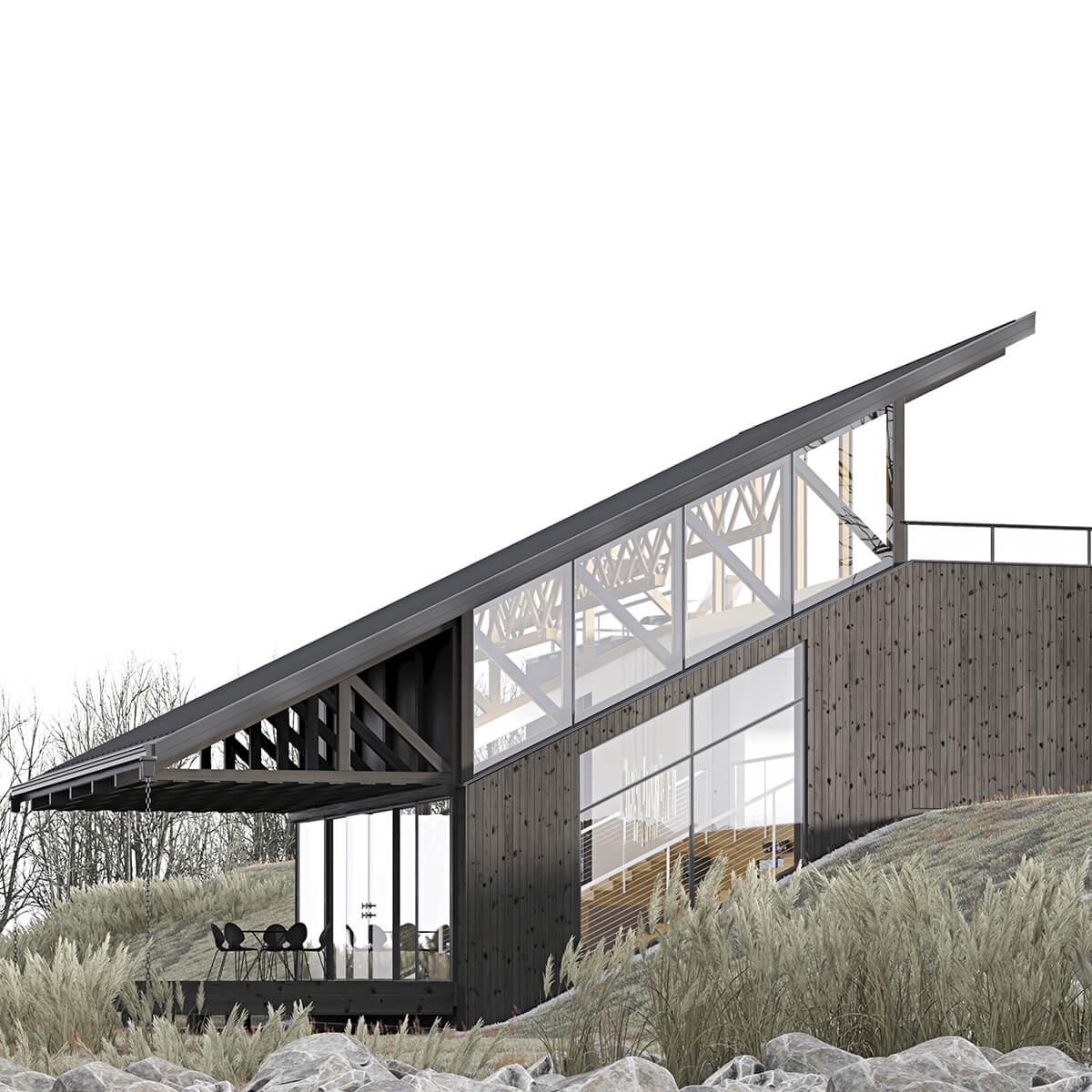 Автономный дом в Литве
