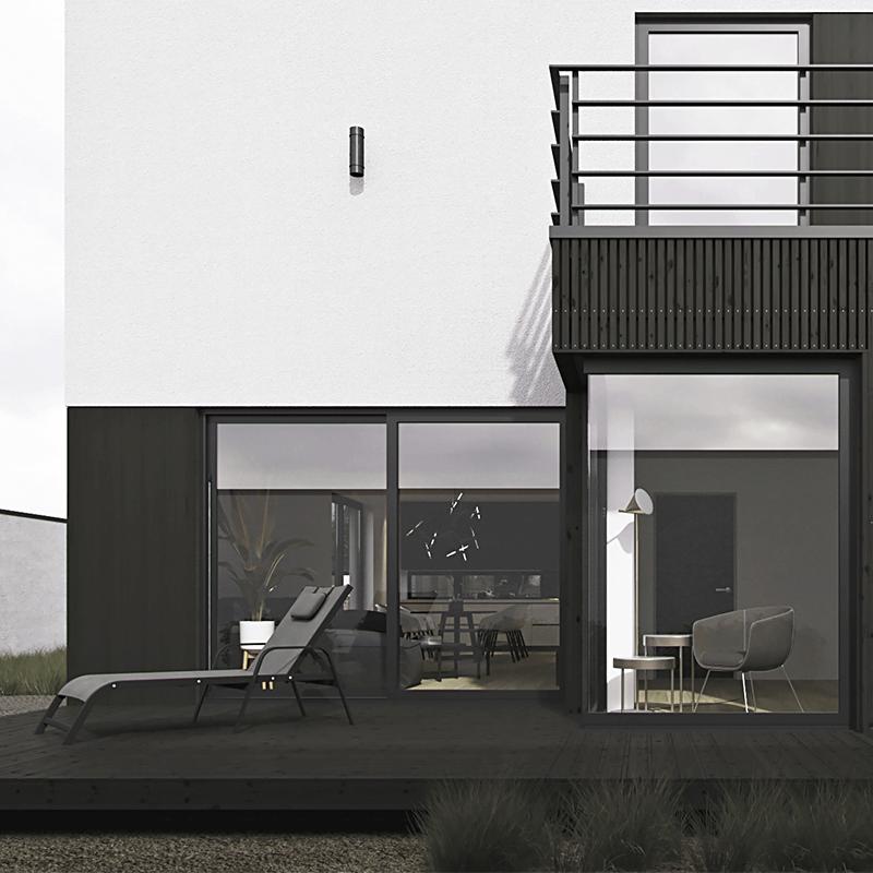 Дом в стиле барнхаус