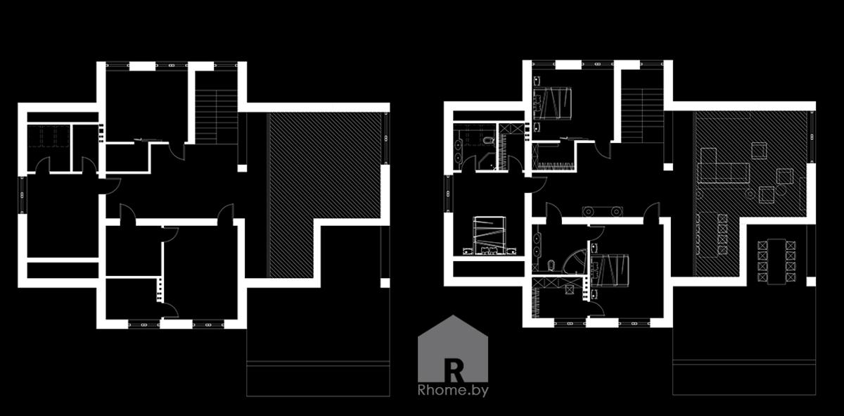 Планировка 2этаж