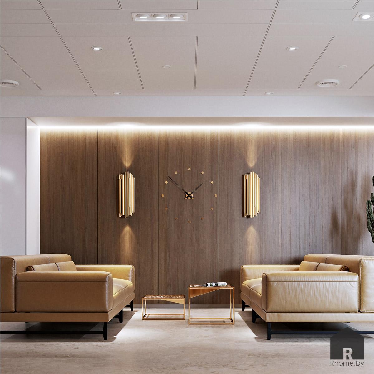 Дизайн интерьера ресепшна | Дизайн студия – Rhome.by