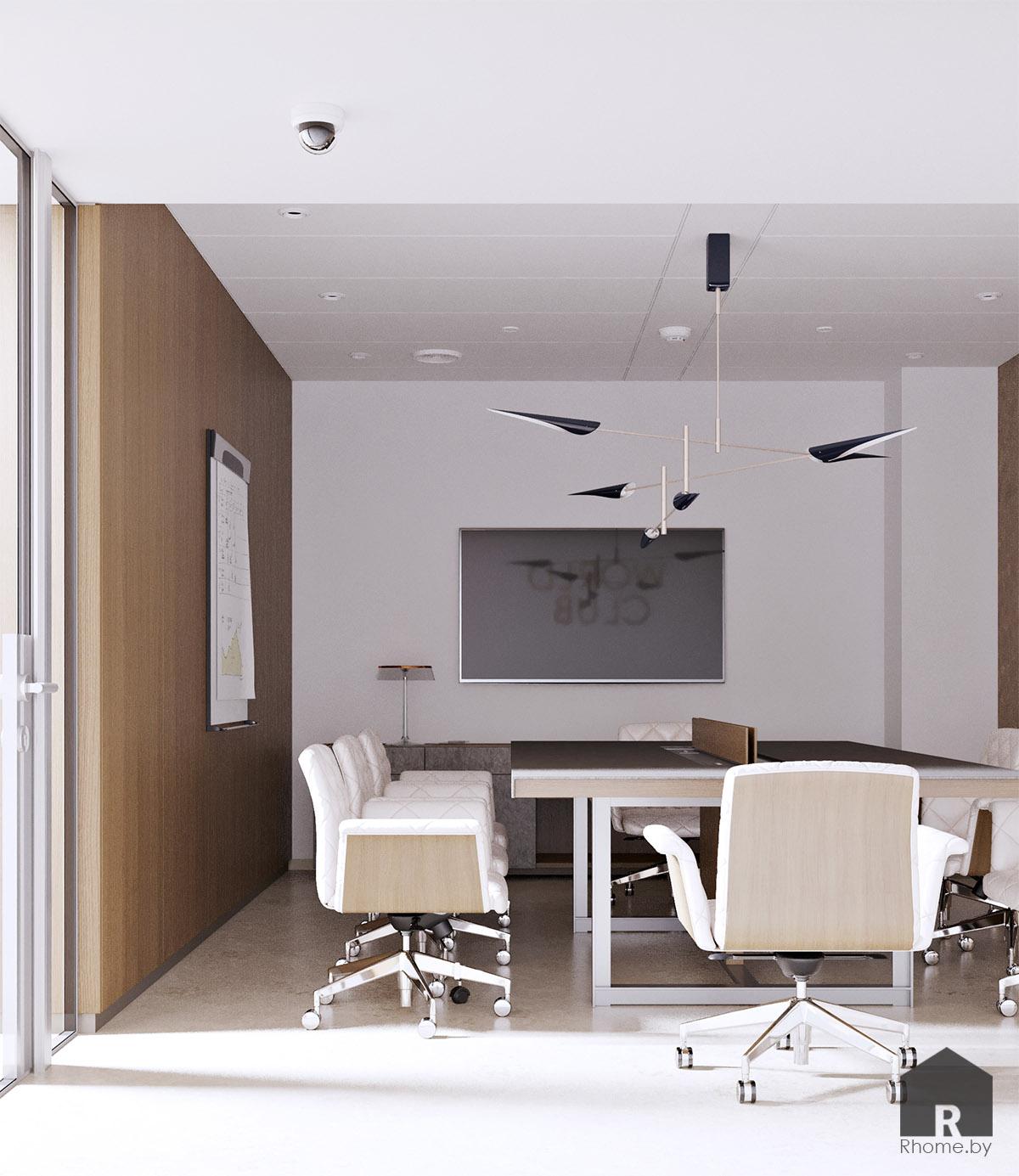 Дизайн интерьера переговорной | Дизайн студия – Rhome.by
