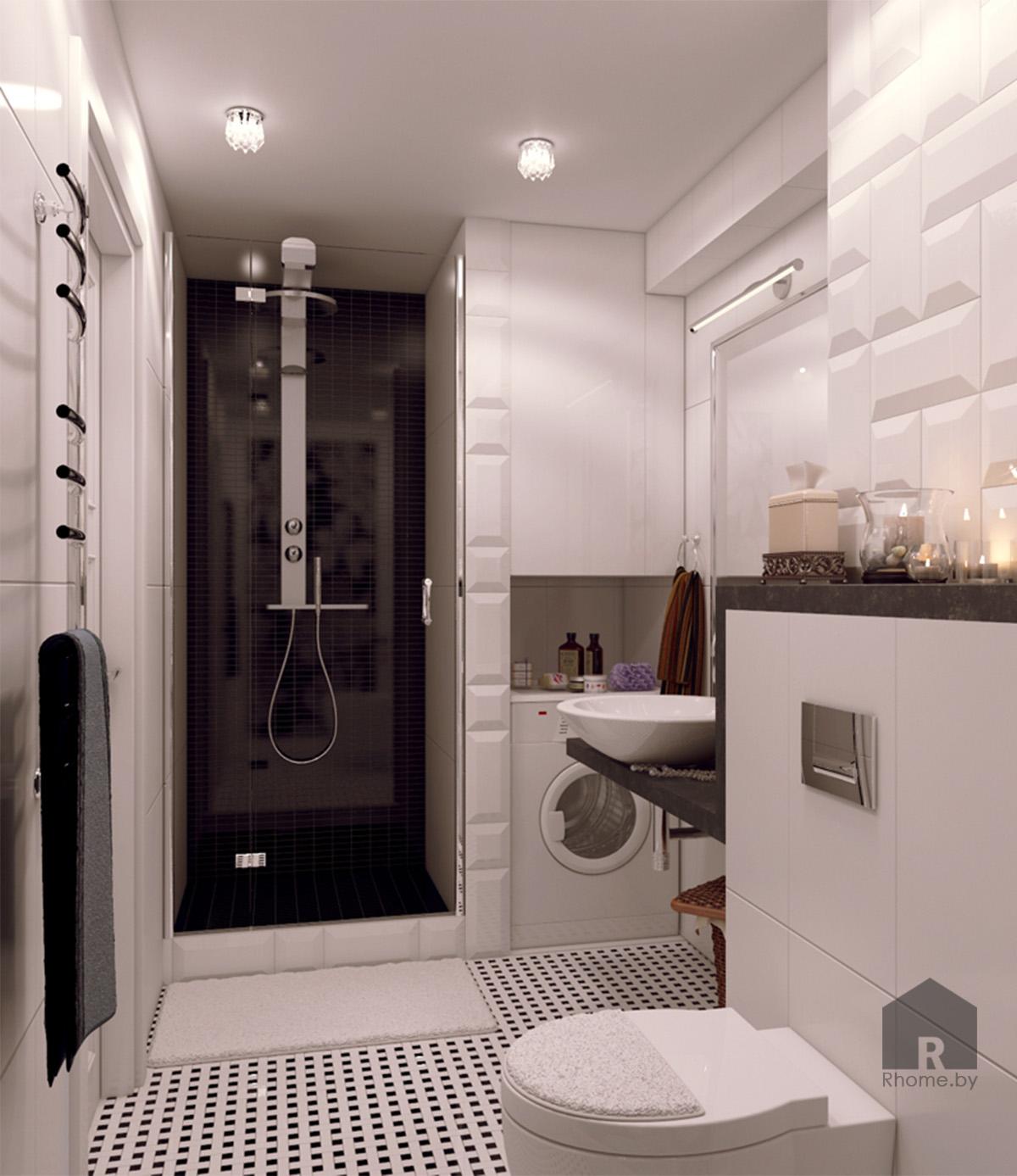 Дизайн интерьера ванной в традиционном стиле | Дизайн студия – Rhome.by