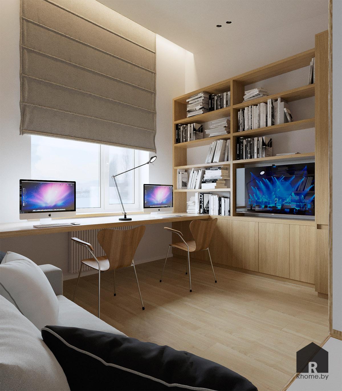 Дизайн интерьера комнаты в Березовой роще | Дизайн студия – Rhome.by