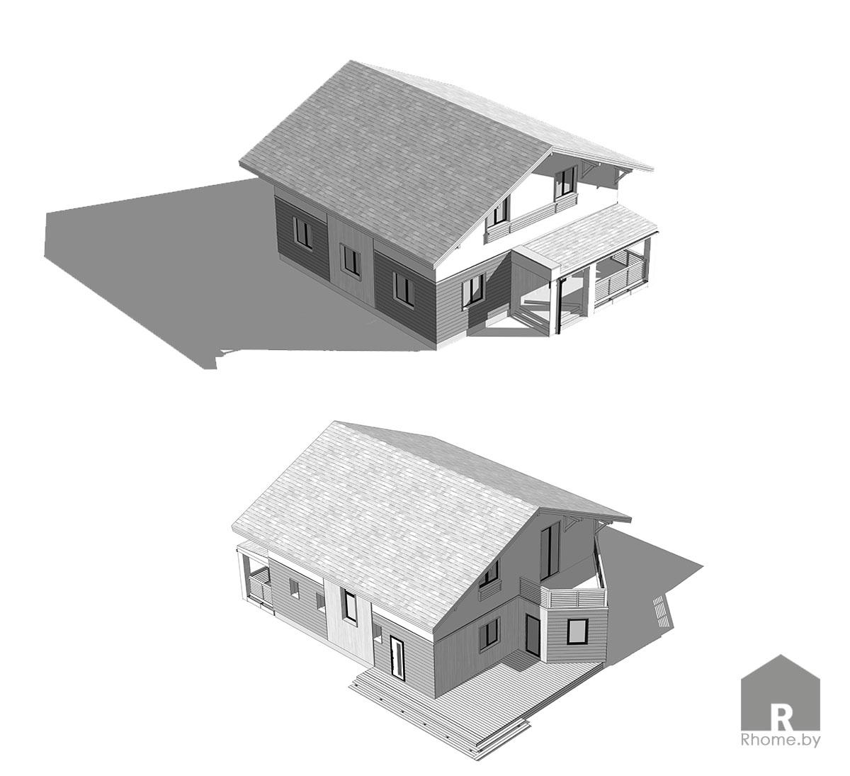 Планировка дома в Могилеве | Дизайн студия – Rhome.by