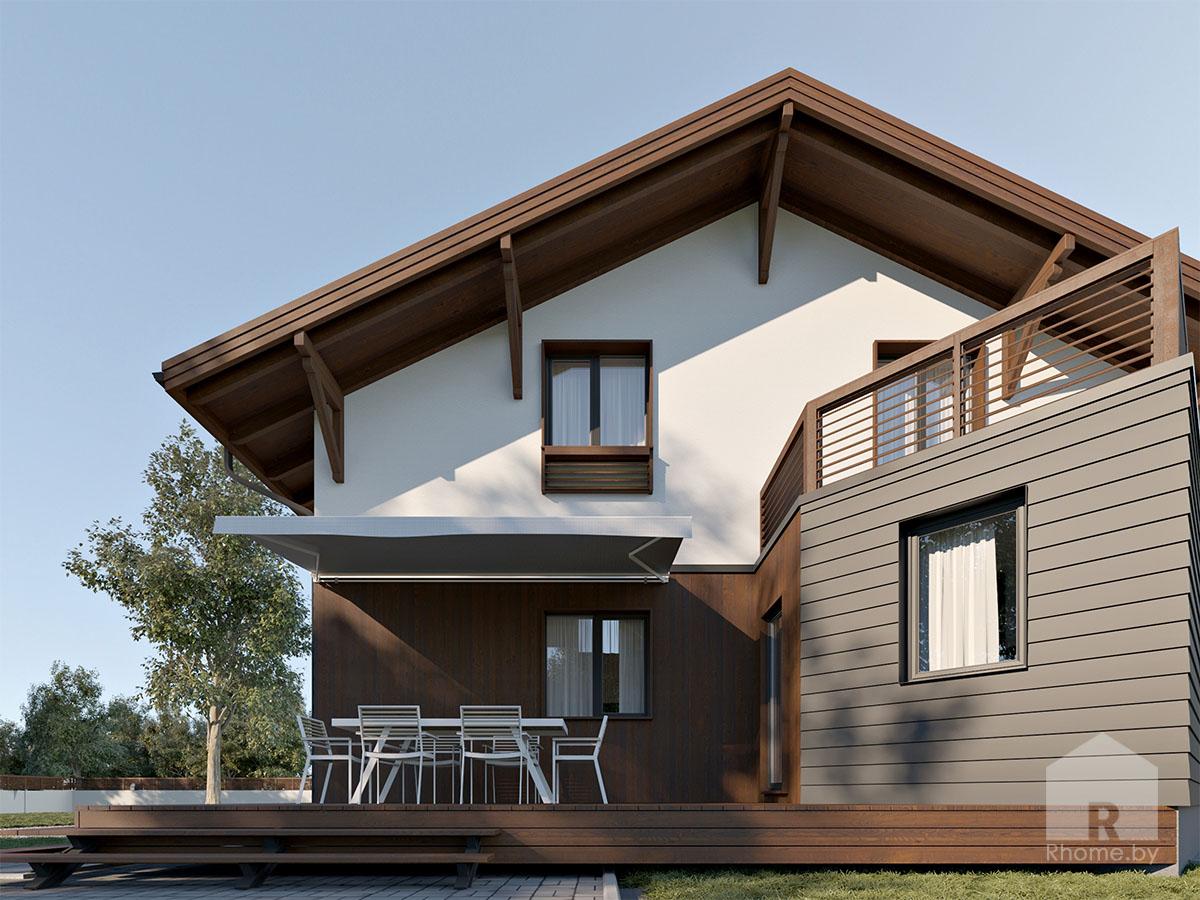 Дизайн фасада дома в Могилеве | Дизайн студия – Rhome.by