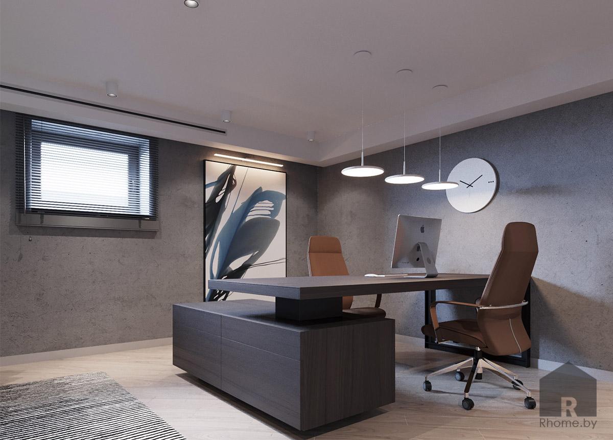 Дизайн интерьера домашнего кабинета | Дизайн студия – Rhome.by