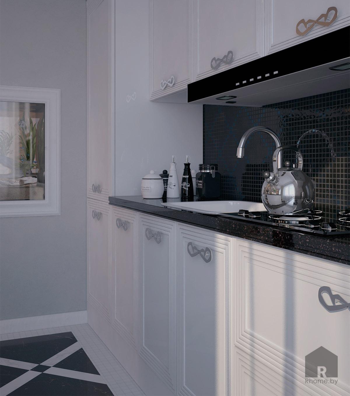 Кухня в арт-деко