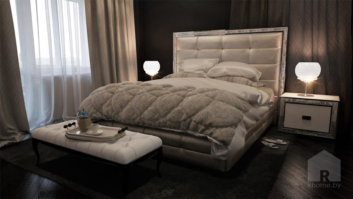 Спальня в арт-деко