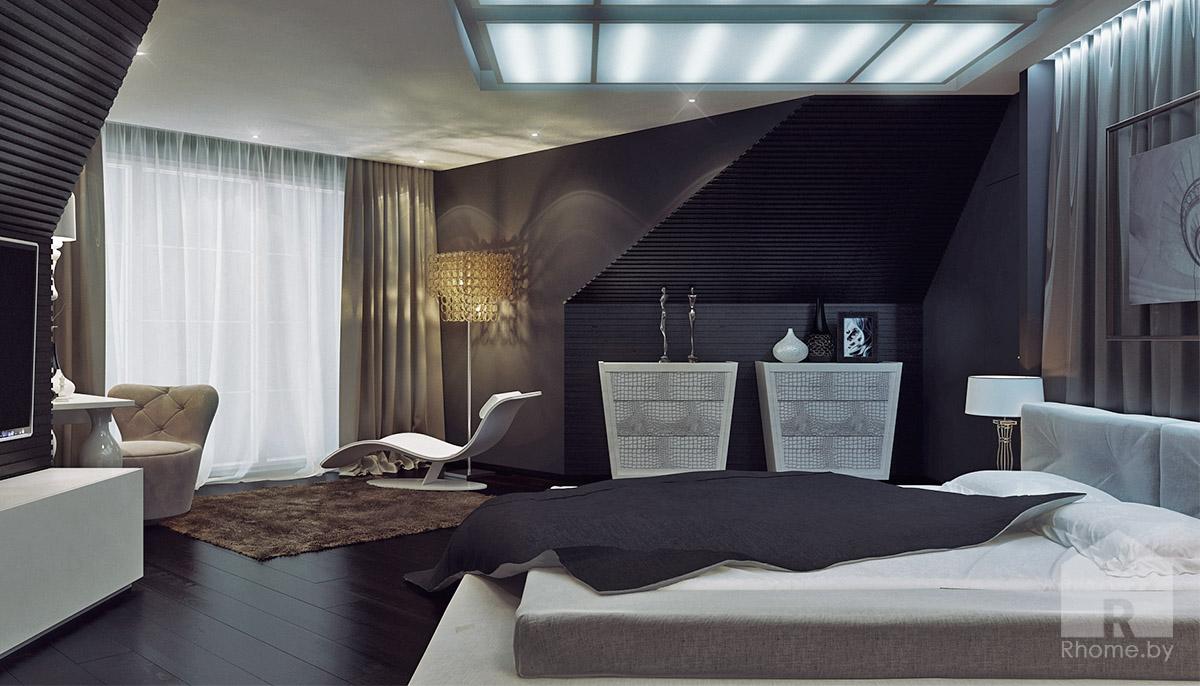 Спальня дочери в традиционном американском стиле