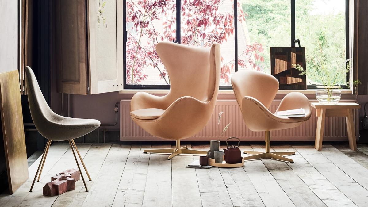 Как создать «дорогой» интерьер, кресло Арне Якобсена