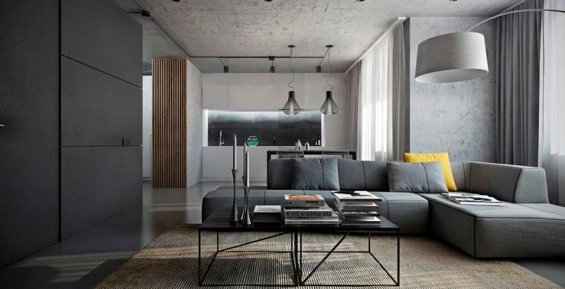 Neutral Gray Модные цвета в интерьере Pantone