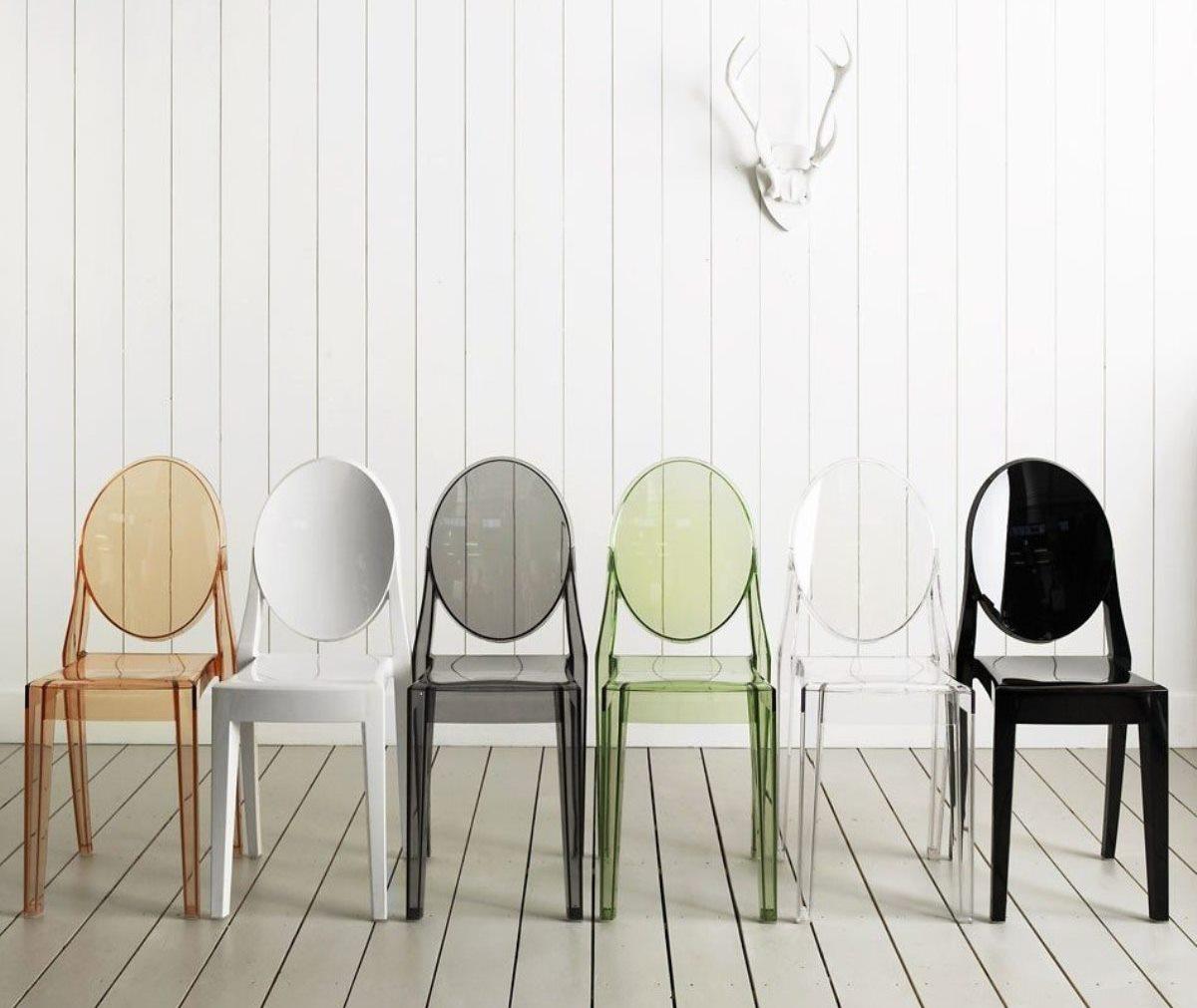 Шедевры предметного дизайна Стул Louis Ghost