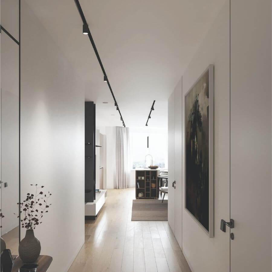 Светлый интерьер квартиры в ЖК D3