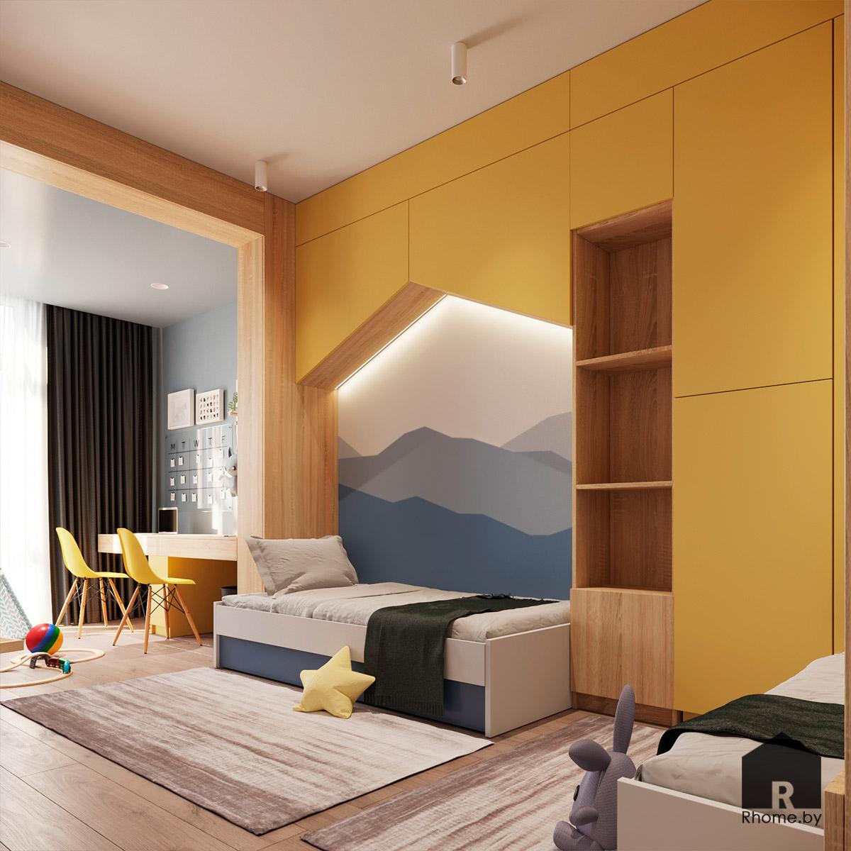 Детская комната | Дизайн студия – Rhome.by