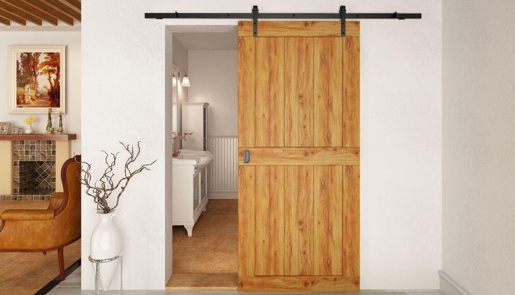 Амбарные двери в интерьере