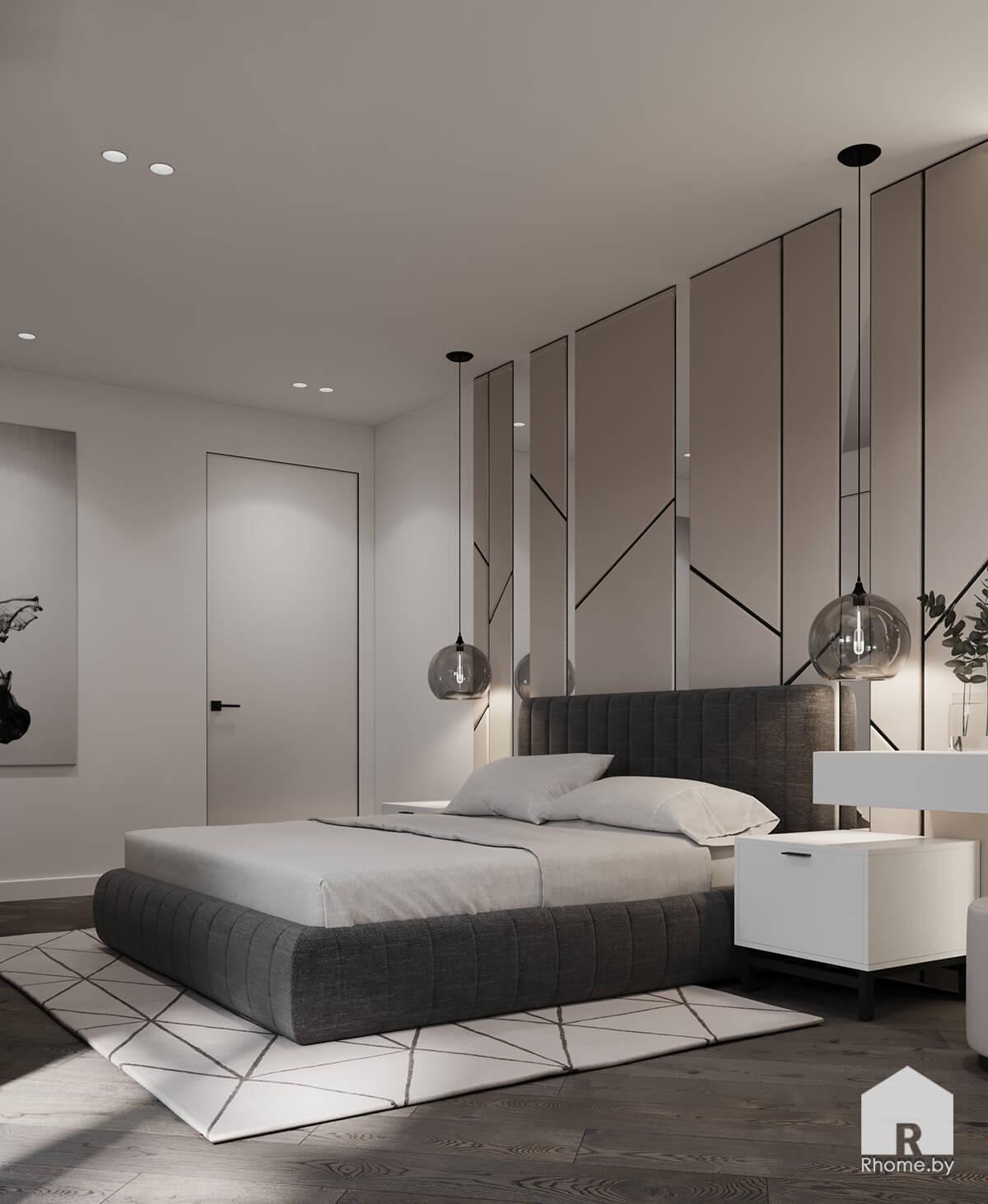 Спальня | Дизайн студия – Rhome.by