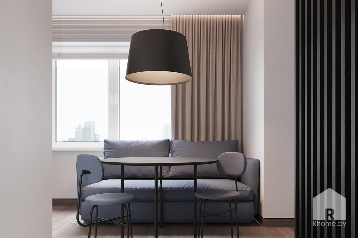 Квартира парня | Дизайн студия – Rhome.by
