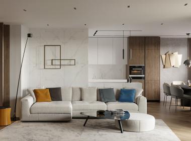 Квартира в стиле «уютный минимализм»