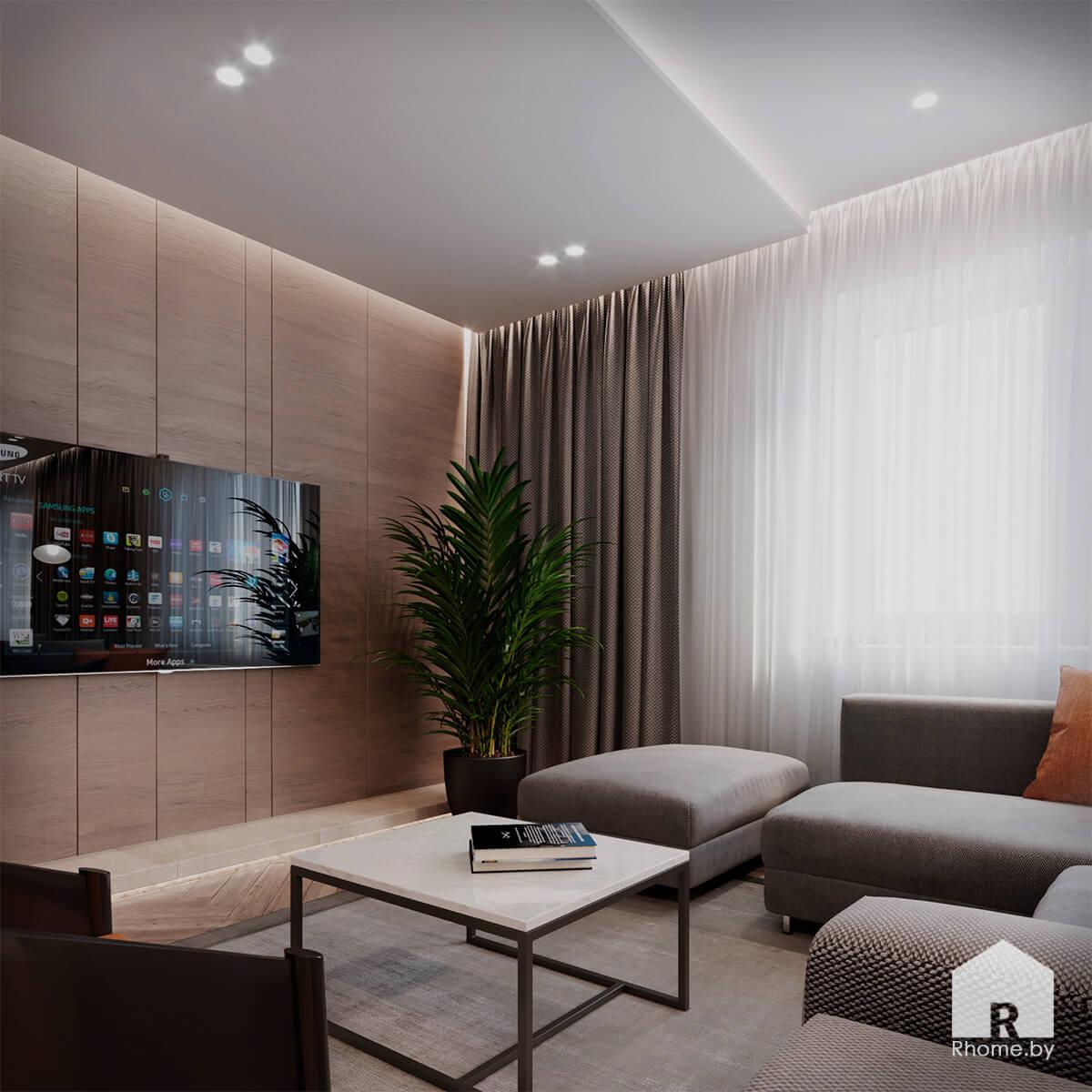 Гостиная | Дизайн студия – Rhome.by