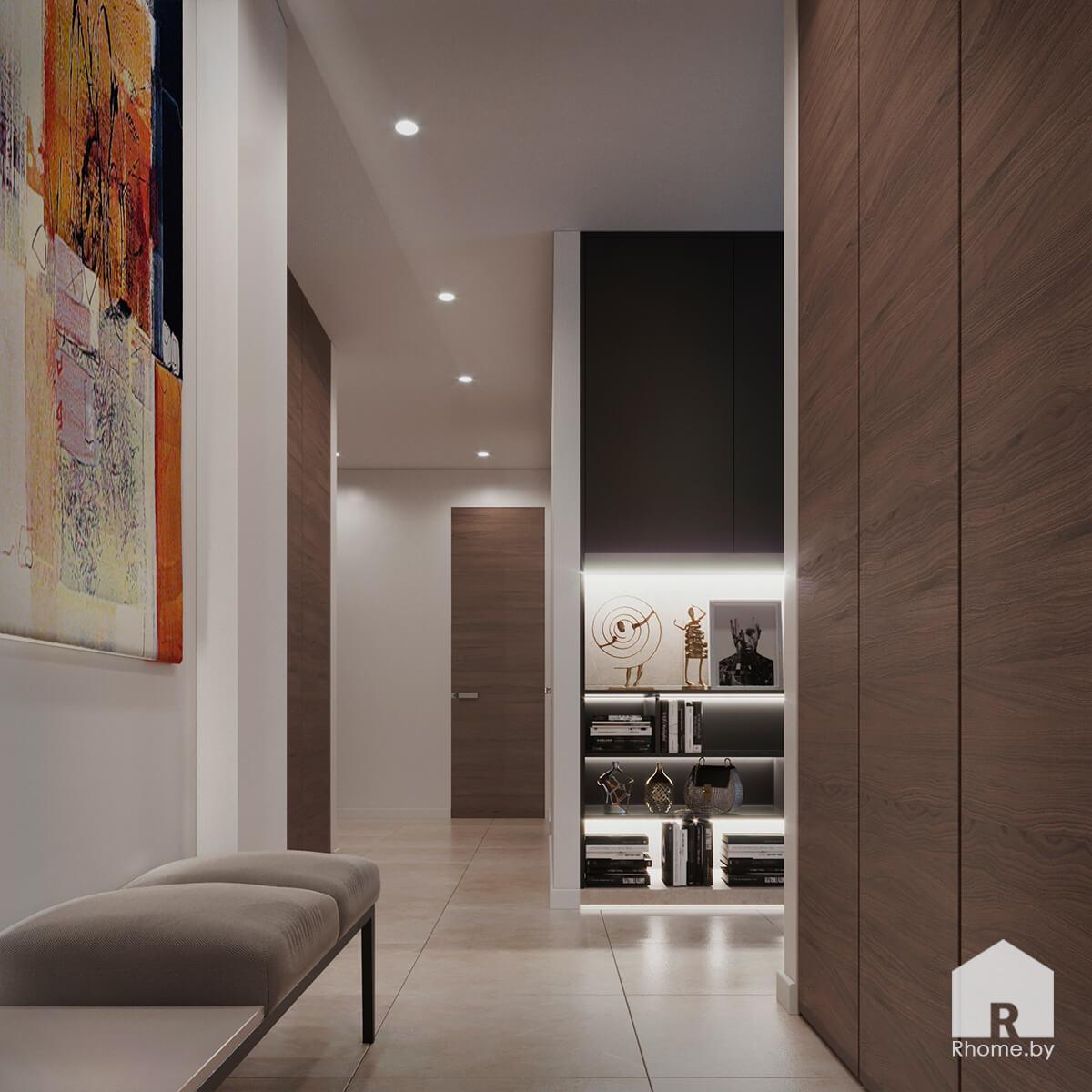 Прихожая | Дизайн студия – Rhome.by