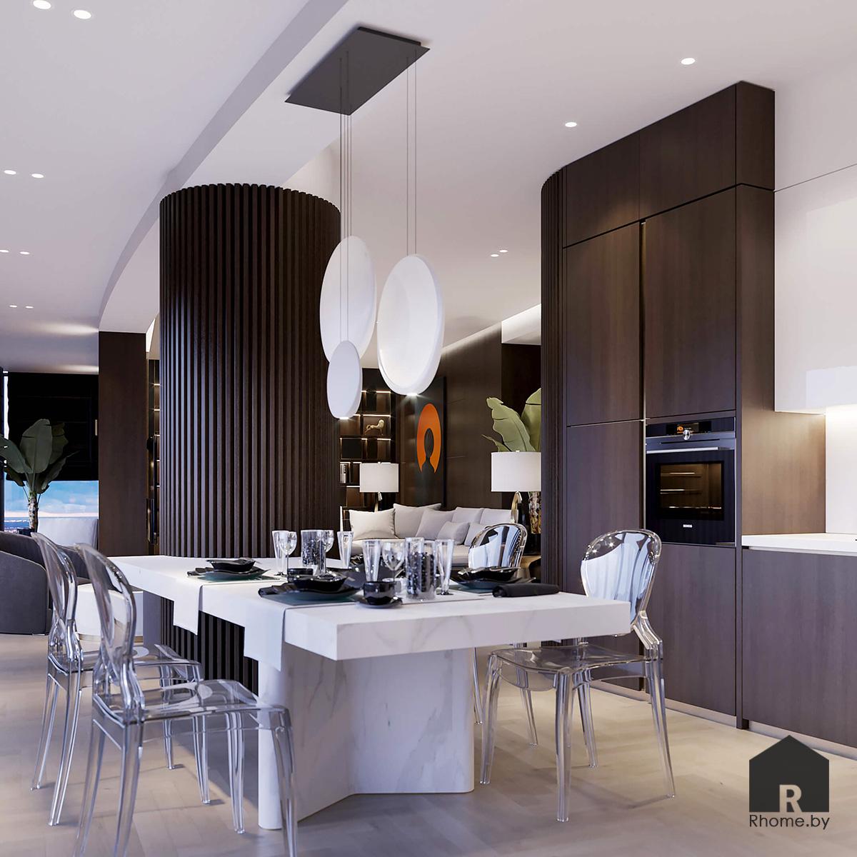 Столовая | Дизайн студия – Rhome.by
