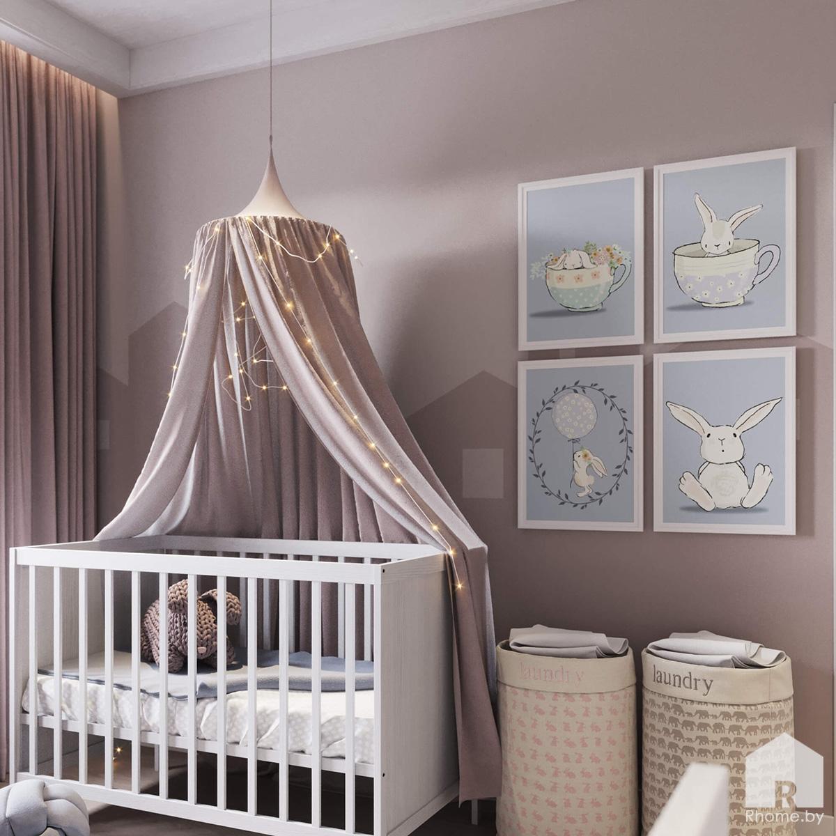 Детская | Дизайн студия – Rhome.by