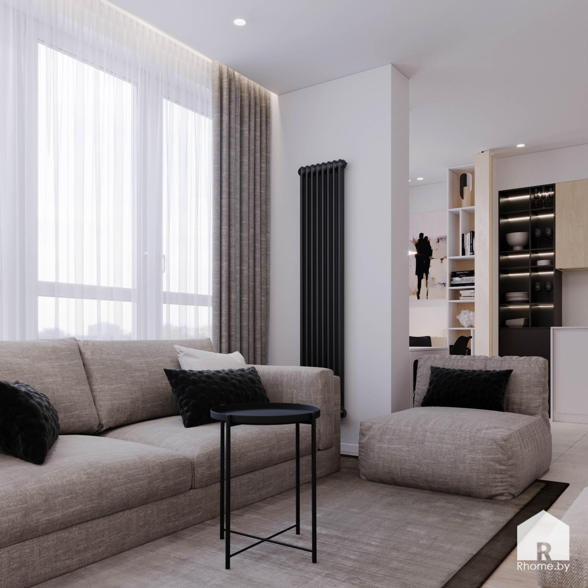 1 дизайн квартиры братская