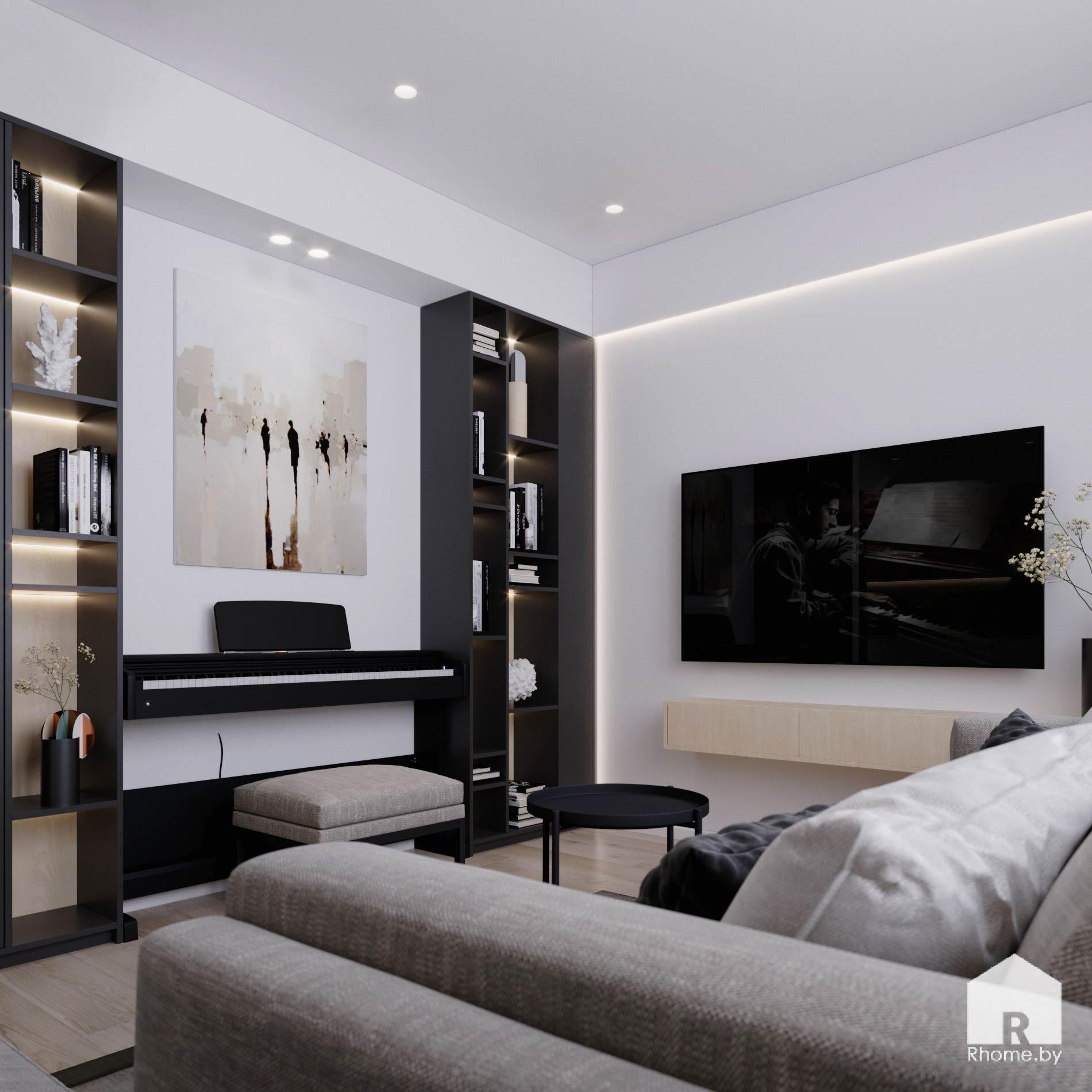 4 дизайн квартиры братская