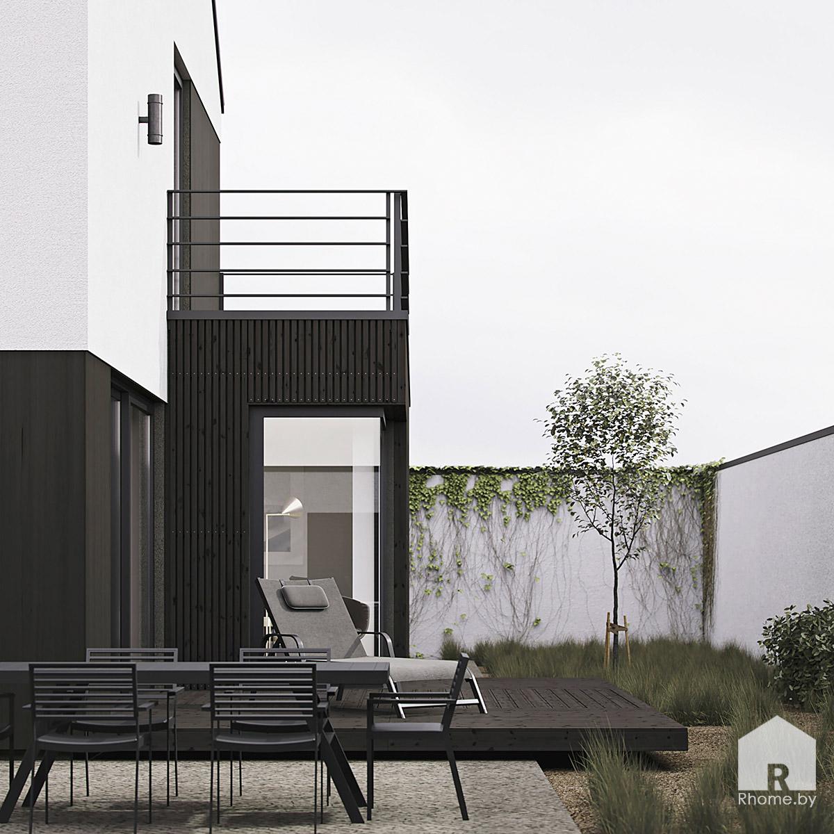 Дом в стиле барнхаус | Дизайн студия – Rhome.by