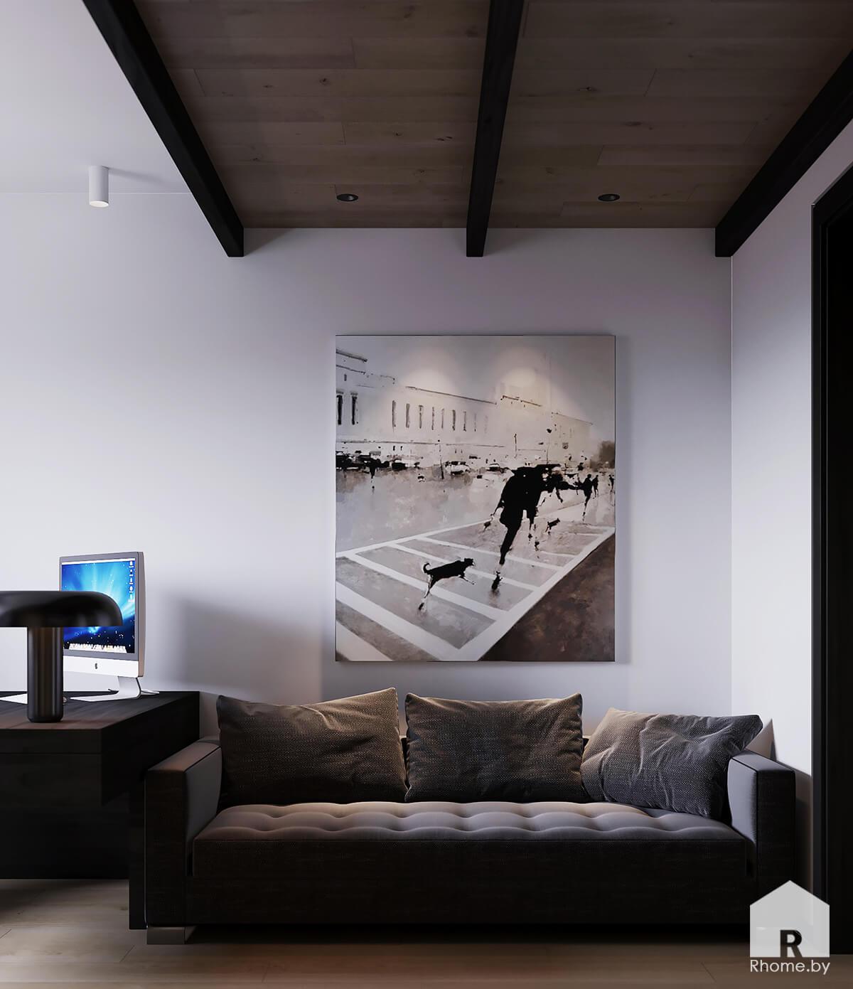 Дизайн кабинета | Дизайн студия – Rhome.by