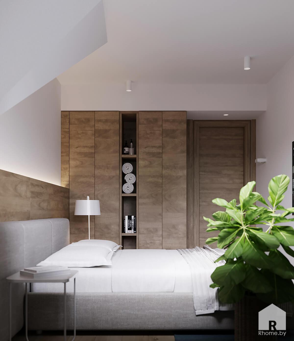 Дизайн гостевой спальни | Дизайн студия – Rhome.by