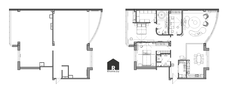 Планировка квартиры в Москве