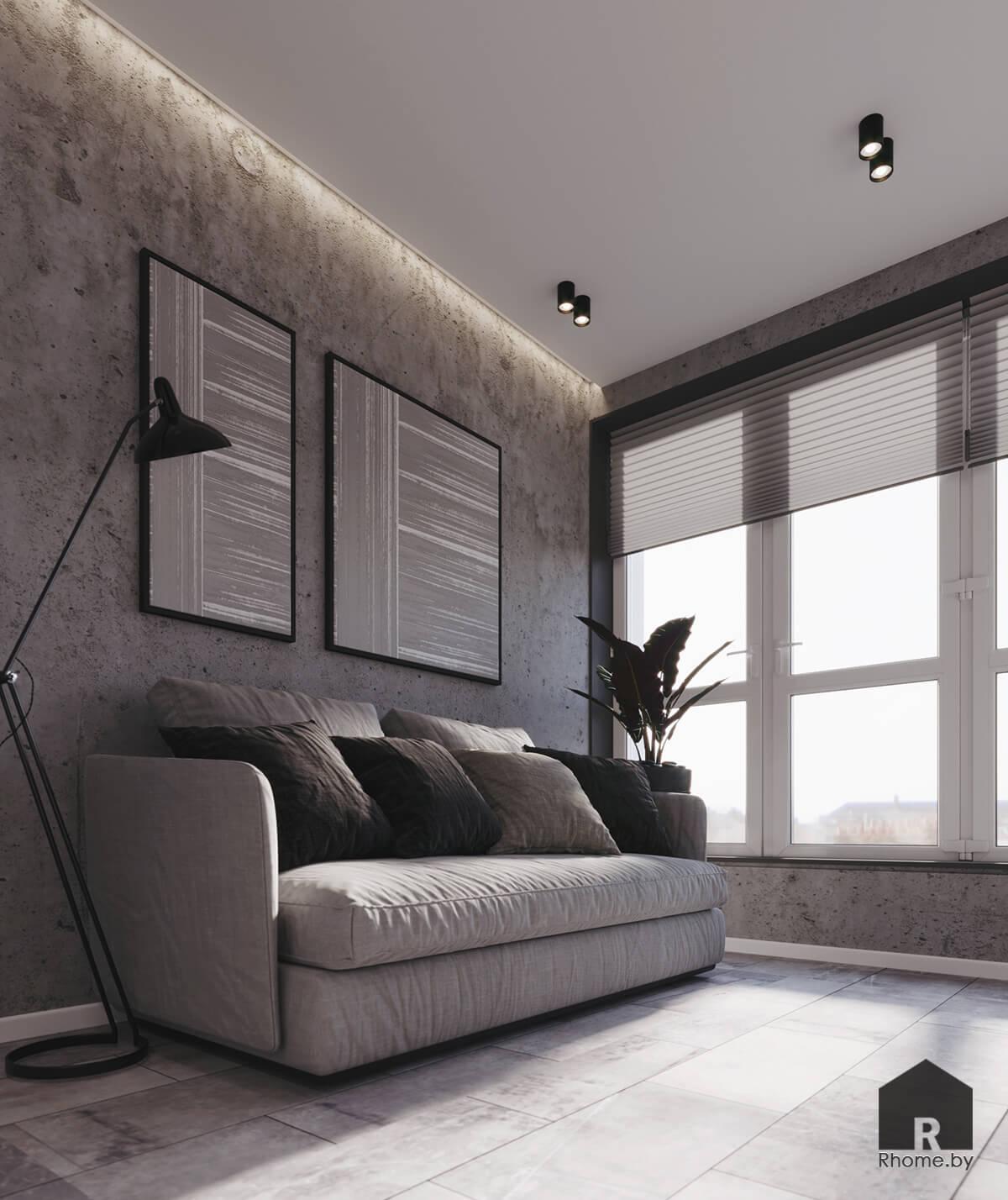 Кабинет | Дизайн студия – Rhome.by