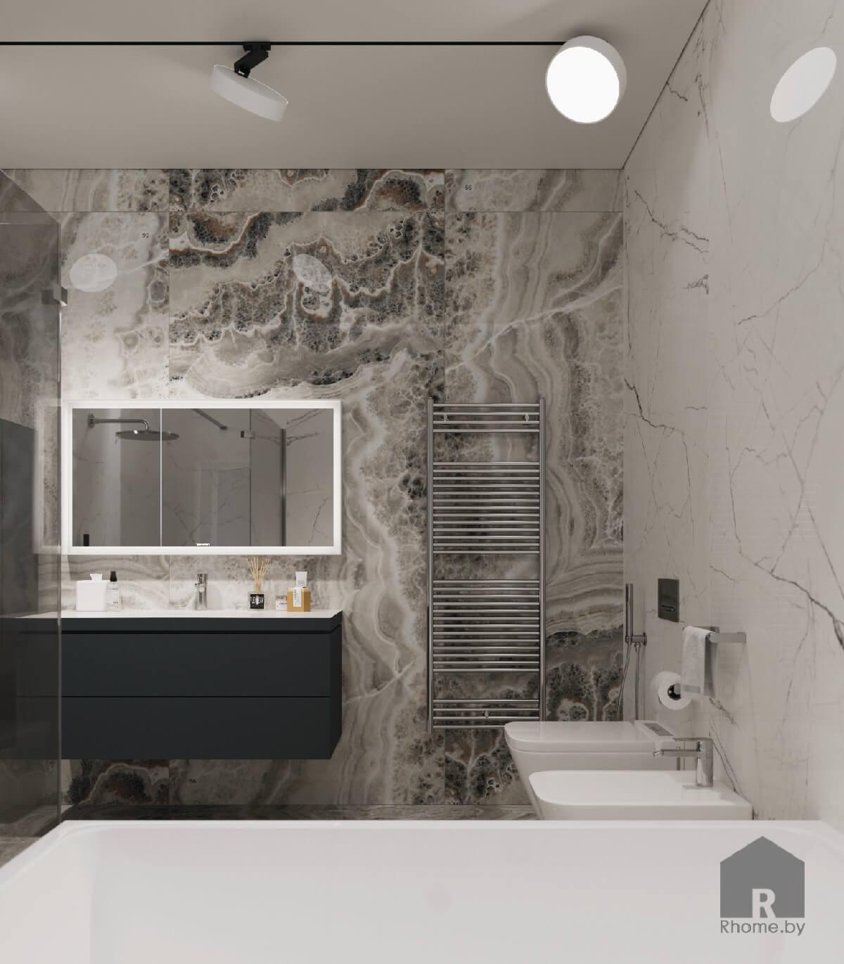 13 интерьер ванной комнаты